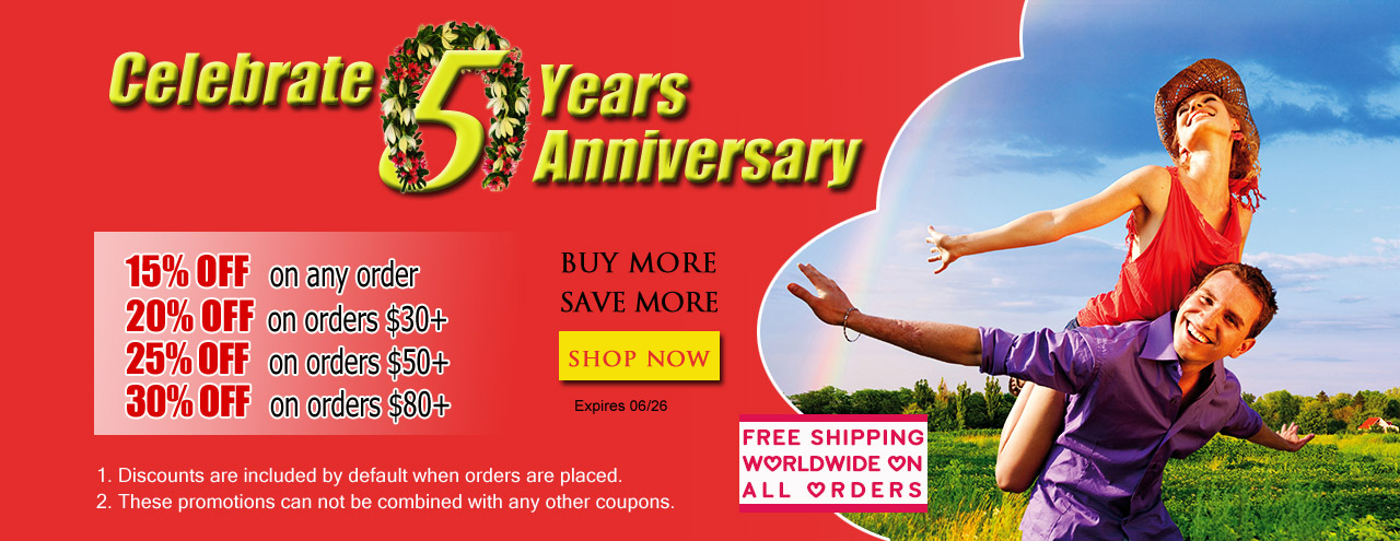 30% Off @ tryfm.com Celebrate 5 Years Anniversary