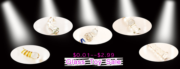 Glass toys are ON SALE